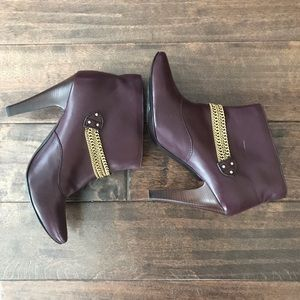 Marc by Marc Jacobs Chain Ankle Boots